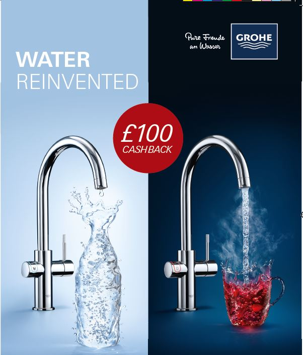 New Perrin & Rowe hot taps